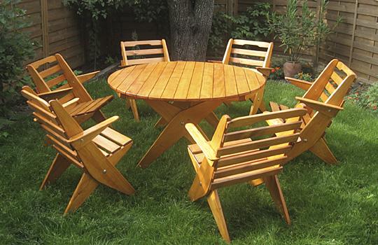 Meble Ogrodowe Z Drewna Olchowego : Meble ogrodowe – składane  domidrewnopl